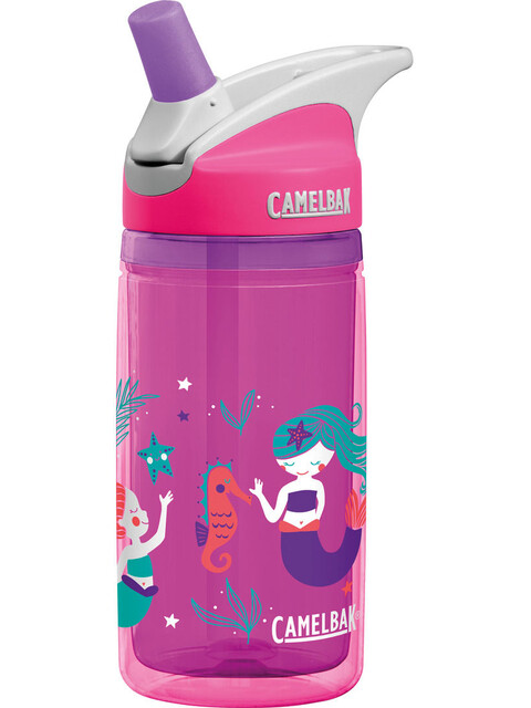 CamelBak Eddy Kindertrinkflasche 400ml Pink Mermaids